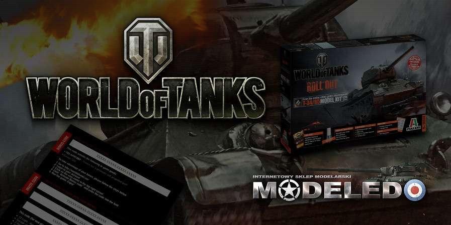 Modele do sklejania Italeri WoT World of Tanks