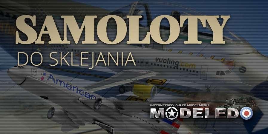 Modele samolotów do sklejania