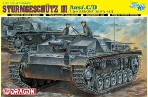 Model Sdkfz 142 Sturmgeschutz III ausf. C/D - Dragon 6851