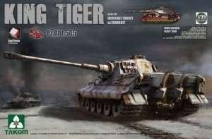 Takom 2047 King Tiger Henschel Turret Pz.Abt.505 w/Zimmerit