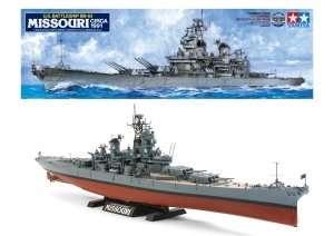 Tamiya 78029 U.S. Battleship BB-63 Missouri