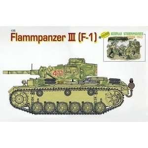German tank Flammpanzer III - Dragon 9113