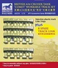 Model Bronco AB3511 A34 Comet Workable Truck Link Set