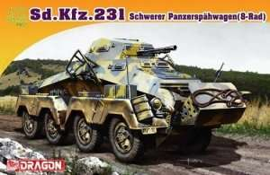 Sd.Kfz.231 Schwerer Panzerspahwagen (8-Rad) in scale 1-72