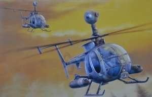 Dragon 3526 Helikopter MD 530G (MMS) Gunship