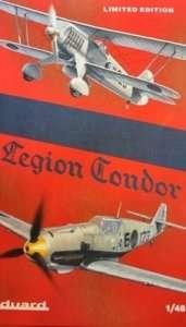 Eduard 1140 Legion Condor - 2 samoloty - He 51, Bf E-1/E-3