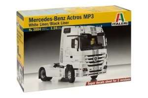 Mercedes-Benz Actros MP3 in scale 1-24 Italeri 3884