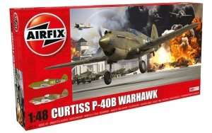 Curtis P-40B in scale 1-48 Airfix A05130