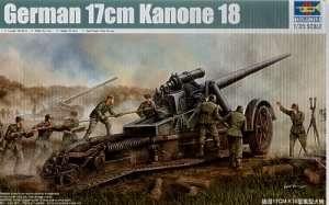 German 17cm Kanone 18 Trumpeter 02313