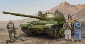 Russian T-62 Mod.1975 in scale 1-35 Trumpeter 01551