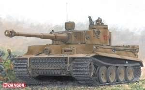 Tank Tiger I in scale 1-35 Dragon 6820