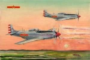 PLAAF P-51D/K Mustang in scale 1-48 Hobby Boss 85807