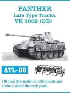 Metalowe gąsienice do czołgu Panther, Jagdpanther