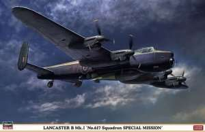 Lancaster B Mk.I No.617 Squadron in scale 1-72 Limited Edition