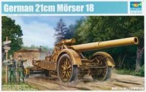 German 210mm Morser 18 Trumpeter 02314