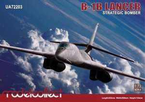 Model B-1B Lancer Strategic Bomber