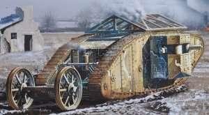 MB 72002 MK I Female British Tank WWI - Somme Battle period 1916