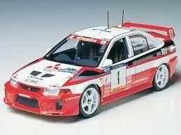 Tamiya 24203 Mitsubishi Lancer Evolution V WRC