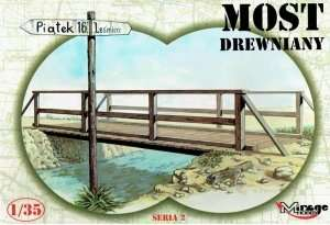 Wooden Bridge - Mirage Hobby 35220
