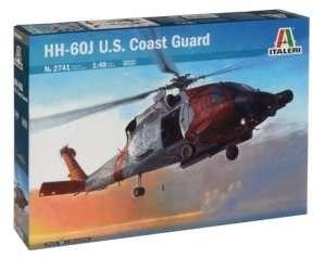 Helicopter HH-60J U.S. Coast Guard in scale 1-48 Italeri 2741