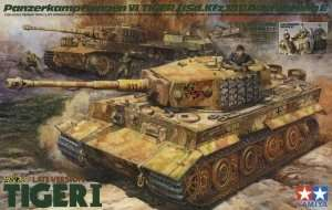 Model German Tank Tiger I scale 1-35