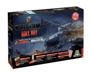 World of tanks Italeri WOT tank Leopard 1 A2