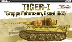German tank Tiger I Gruppe Fehrmann, Essel 1945