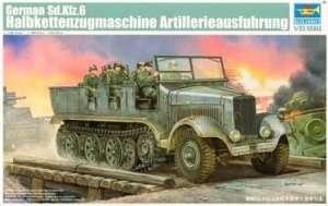 German Sd.Kfz. 6 Halbkettenzugmaschine Artillerie Ausfuhrung