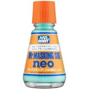 Mr.Hobby M-132 Mr. Masking Sol Neo - płyn maskujący