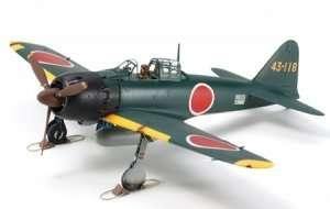 Tamiya 21148 Mitsubishi A6M5 Zero Fighter - model sklejony i pomalowany