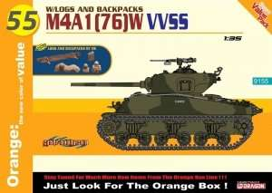 M4A1(76)W VVSS w/Logs and Backpacks in scale 1-35