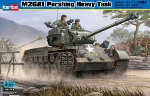 M26A1 Pershing Heavy Tank in scale 1-35 Hobby Boss 82425