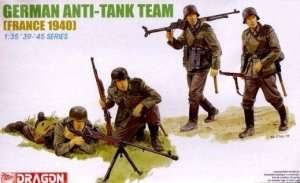 Figure German Anti-Tank Team in scale 1-35 Dragon 6196