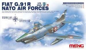 Fiat G.91R NATO Air Forces in scale 1-72