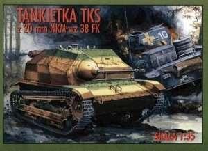 Tankietka TKS z 20mm NKM wz 38 FK in scale 1-35