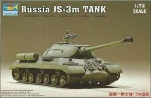 Russian heavy tank JS-3m Trumpeter 07228