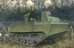 IJN Special Type 4 Ka-Tsu Amphibious Tracked Vehicle in scale 1-35