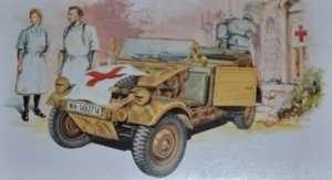 Dragon 6336 Kubelwagen Ambulans z zespołem medycznym