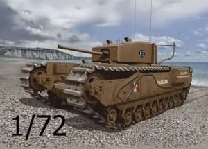 Dragon 7510 Churchill Mk.III (Dieppe 1942)