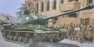 Soviet heavy tank IS-2 Dragon 6012