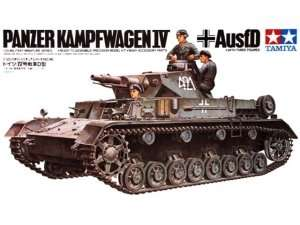 German Pz.Kpfw. IV Ausf. D in scale 1-35