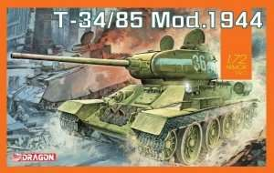 T-34-85 Mod. 1944 in scale 1-72