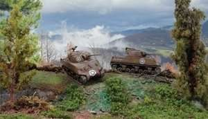 Italeri 7518 M4A3 75mm Sherman - 2 modele