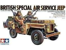Tamiya 35033 British Special Air Service Car