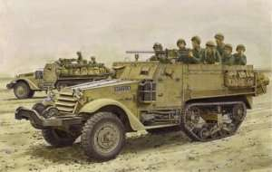 IDF M3 Half-Track in scale 1-35