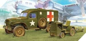 Model Academy 13403 US Ambulance & Towing tractor