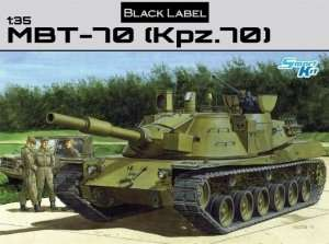 MBT-70 (Kpz.70) in scale 1-35 Dragon 3550