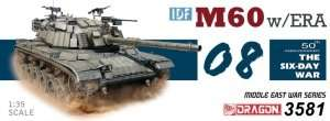 IDF M60 w/ERA in scale 1-35