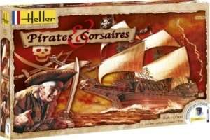 Pirates and Corsaires - Model Kit Heller 52703 in scale 1-200
