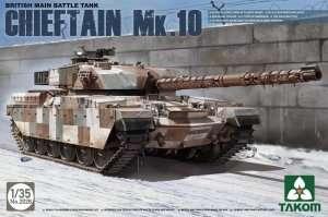 Tank Chieftain Mk.10 in scale 1-35 Takom 2028